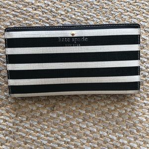 Kate Spade Fairmont Square Stacey Striped Wallet